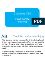 330 Hand Safety Training Material v1