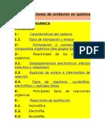 4.1-A- Reaccioness de Oxidacion en Quimica Organica.