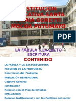 La Fabula y La Lectoescritura v1