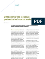 Unlocking the Elusive Potential of Social Networks