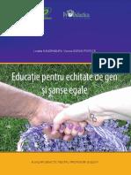 Educație Pentru Echitate de Gen Și Șanse Egale