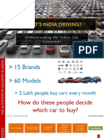 Automotive Consumer Archetypes - India Perspective