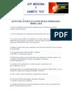 Preguntas de Autoevaluacion 3er Parcial Bacteriologia Medica Atpmedicina- Gameto Icu