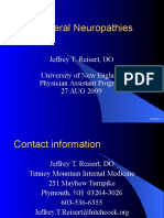 NEPeripheral Neuropathies