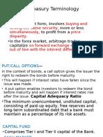 Treasury Terminology (3)