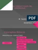 Clase IV Teorías Conductuales Del Aprendizaje