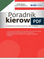 Biblioteka DGP. Poradnik Kierowcy - Mandaty Punkty Karne Znaki Drogowe