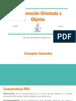 3. Programación Orientada a Objectos (1)