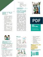 Folleto de Sistema de Seguridad Social en Colombia