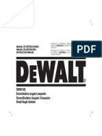 MANUAL DE USUARIO DEWALT DWE4120