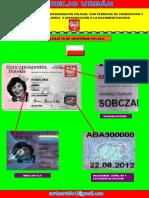 Carta de Identidad Polonia