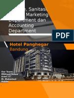 Higiene Sanitasi dan K3 pada Marketing dan Accounting Department di Hotel
