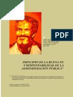 Artículo Buena Fe