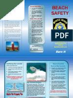 Myrtle Beach Fire Rescue Beach Safety Brochure