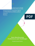Data Warehouse Trends Report 2017