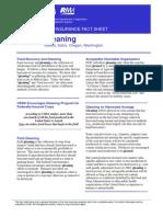 Gleaning Crops Factsheet