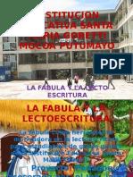 La Fabula y La Lectoescritura v2