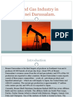 Oil and Gas Industry in Brunei
