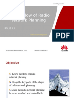 2. AM Service Flow of Radio Network Planning ISSUE1.1
