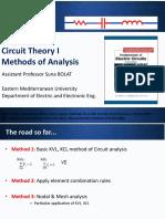 Circuit Theory 1 C3 Analysis Methods