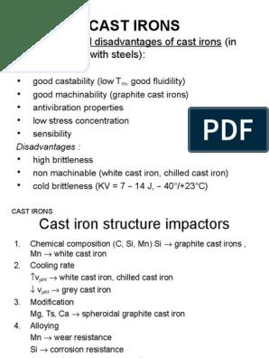 4 4 4 Gold Plating   Cast Iron   Heat Treating