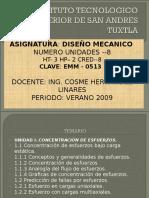 l Unidad.diseño Mec.