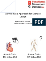 A Systematic Approach for Exercise Design