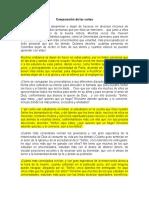 Carta de San Francisco Javier Versión Original y Adaptada