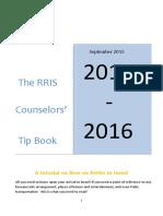 Counselors Tip Book 2015-2016