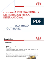 Logistica y Distribucion Fisica Internac.