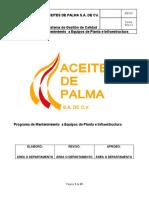 Procedimiento Programa de Mantenimiento (1)