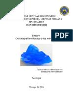 Ensayo Cristalografia Completo