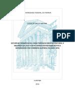 Estudo de Densificação, Caracterização Microestrutural e Mecanica Da Liga Ti-6al-4v Obtida Por Moagem de Pós e Sinterização Por Corrente Elétrica Pulsada (Sps)