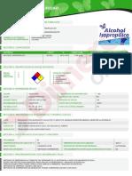 MSDS - ALCOHOL ISOPROPILICO.pdf