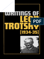 Leon Trotskii Collected Writings 1934 1935