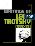 Leon Trotskii Collected Writings 1932 1933
