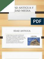 Edad Antigua y Edad Media