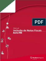 Manual Inclusão Nota Fiscal Bradesco Audatex