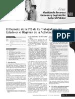 CTS Regimen Privado