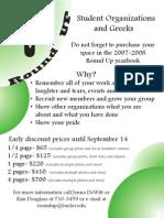 org flyer