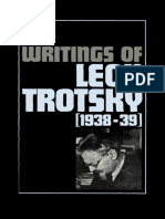 Leon Trotskii Collected Writings 1938 1939