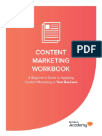 CMC Content Marketing Workbook