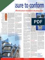 Yokogawa Article - Process Industry Informer - Pressure to Conform