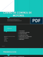 Centro de Control de Motores 2017