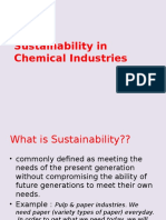 CHAPTER 2.Sustainability in Chemical Industries