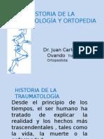Historia de La Traumatologia
