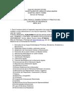 Temario Patologia General Para El Examen Teorico