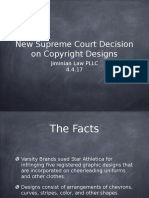 New Supreme Court Decision on Copyright Designs