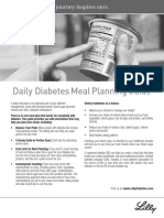 Diabetes DailyMealPlanningGuide English