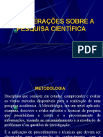 CONSIDERAÇÕES SOBRE A PESQUISA.ppt